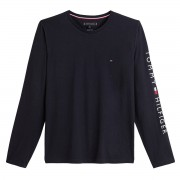 TOMMY HILFIGER 티셔츠 manches longues Tommy Logo